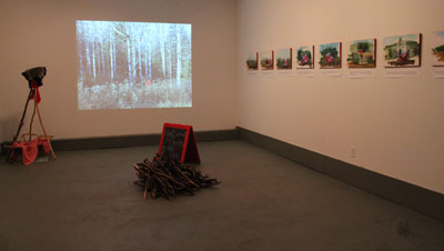 installation shot at Artspace, Peterborough
